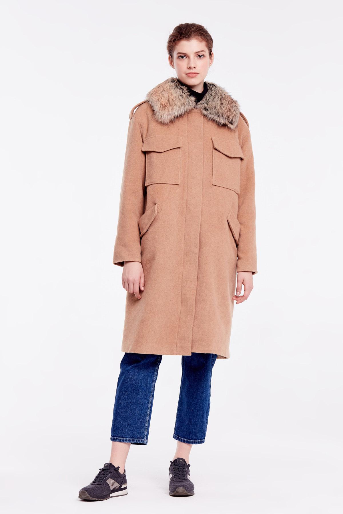 Пальто женские MustHave модель 6158 приобрести, 2017