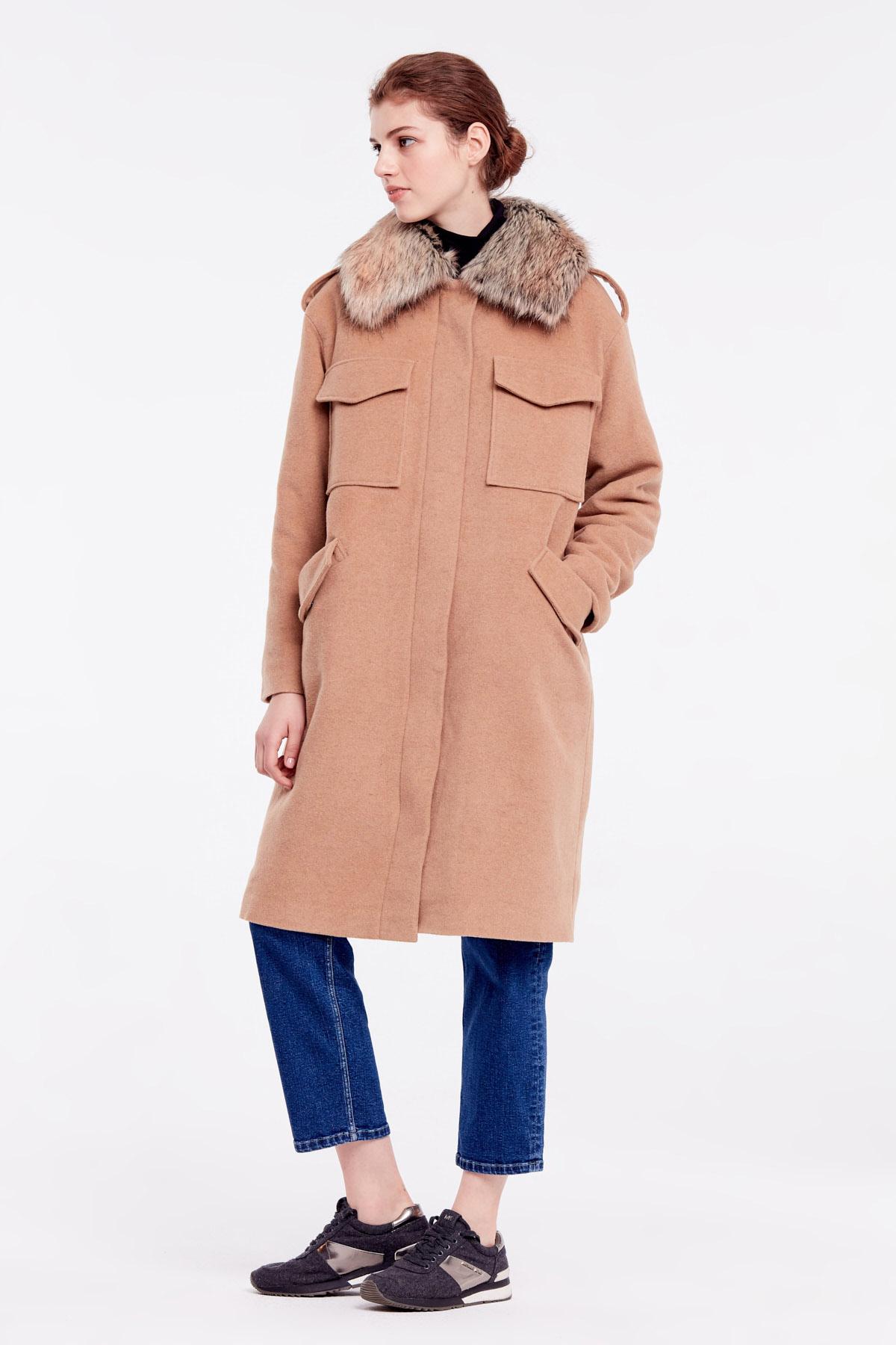 Пальто женские MustHave модель 6158 , 2017