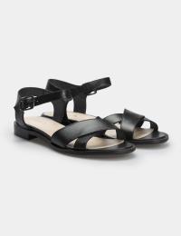 Сандалі  жіночі Сандали 63081041 черная кожа 63081041 брендове взуття, 2017