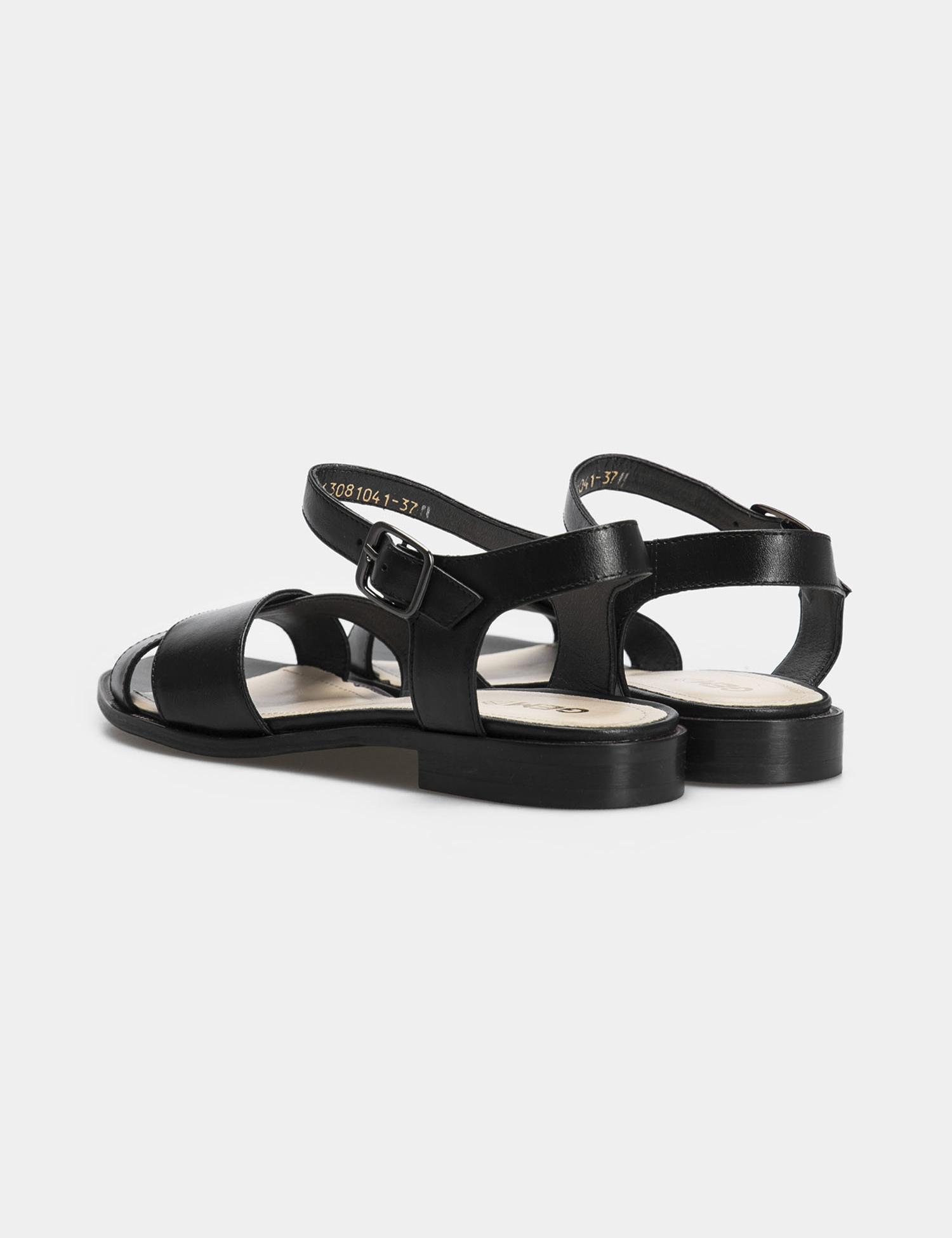 Сандалі  жіночі Сандали 63081041 черная кожа 63081041 модне взуття, 2017
