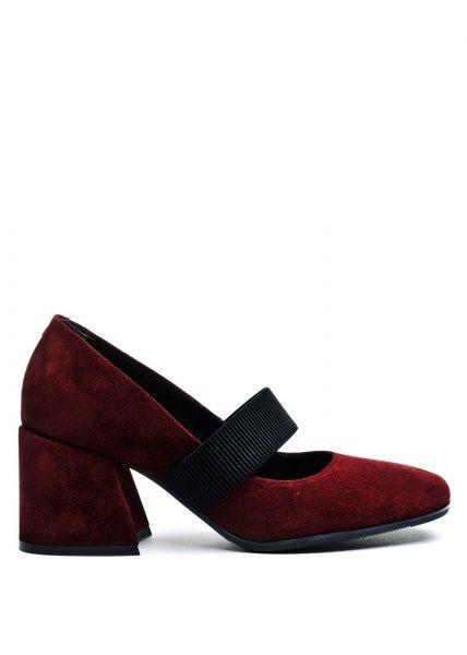 женские 631902 Замшевые бордовые туфли Modus Vivendi 631902 цена, 2017