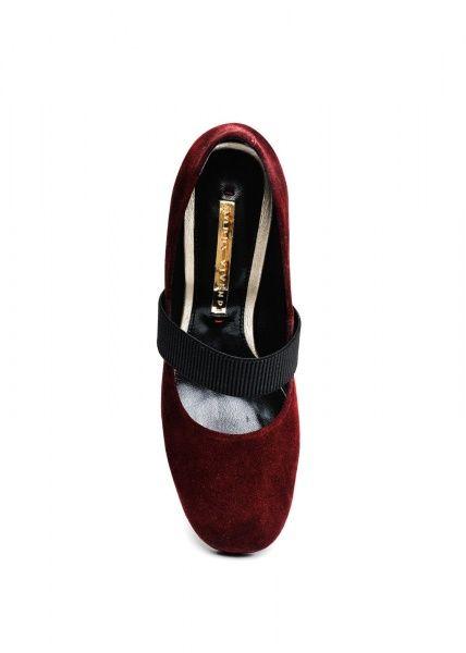 женские 631902 Замшевые бордовые туфли Modus Vivendi 631902 купить в Интертоп, 2017