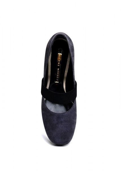 для женщин 631912 Серые замшевые туфли Modus Vivendi 631912 купить в Интертоп, 2017