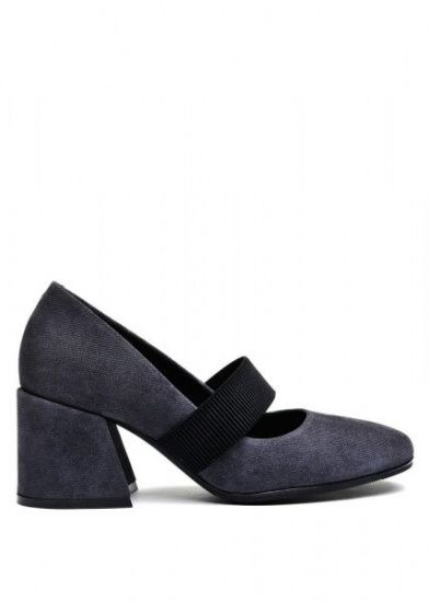 для женщин 631912 Серые замшевые туфли Modus Vivendi 631912 цена, 2017