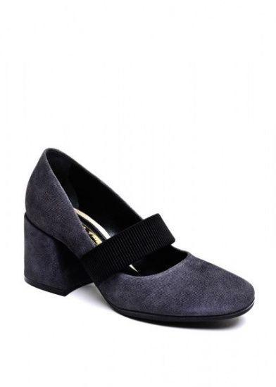 для женщин 631912 Серые замшевые туфли Modus Vivendi 631912 брендовая обувь, 2017