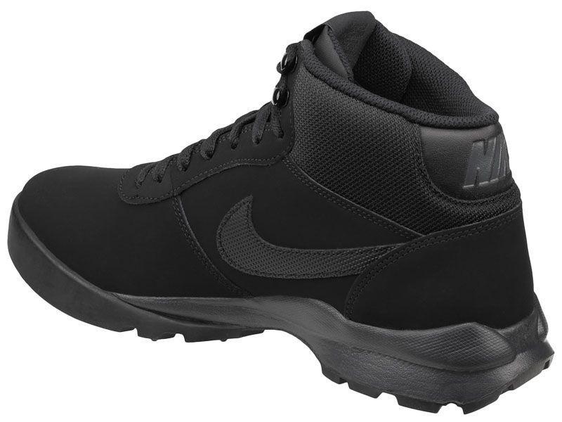 Ботинки мужские NIKE HOODLAND SUEDE Black 654888-090 купить в Интертоп, 2017