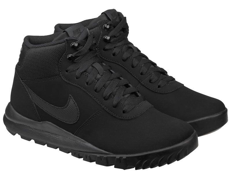 Ботинки мужские NIKE HOODLAND SUEDE Black 654888-090 модная обувь, 2017