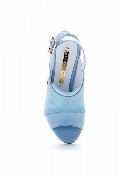 женские 692713 Голубые босоножки Modus Vivendi 692713 модная обувь, 2017