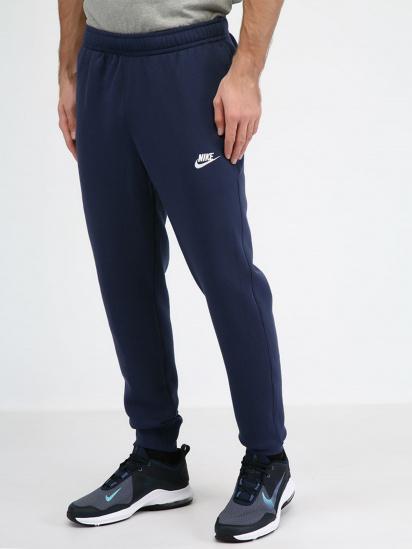 Спортивні штани NIKE SPORTSWEAR CLUB модель BV2671-410 — фото - INTERTOP