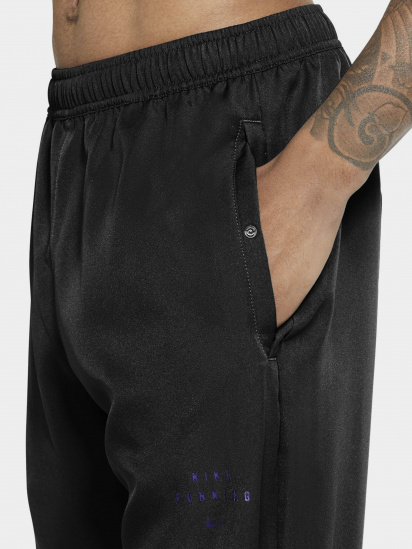 Спортивні штани NIKE Essential Run Division running pants модель DA0412-010 — фото 3 - INTERTOP
