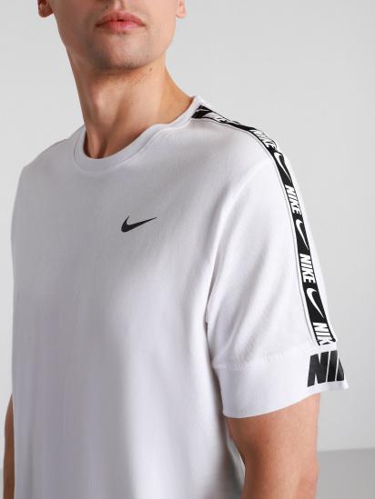 Футболка NIKE  Sportswear Repeat модель CZ7829-101 — фото 3 - INTERTOP