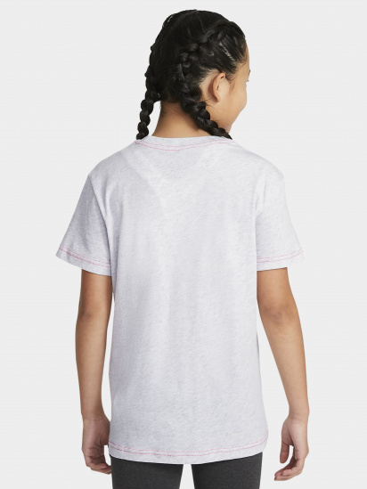 Футболка NIKE Sportswear Essential Logo Boyfriend модель DA6918-051 — фото 2 - INTERTOP