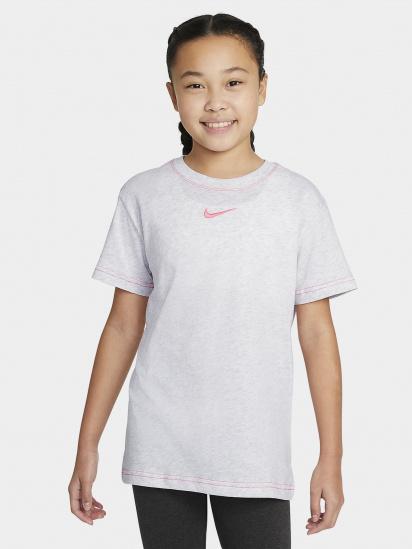 Футболка NIKE Sportswear Essential Logo Boyfriend модель DA6918-051 — фото 3 - INTERTOP