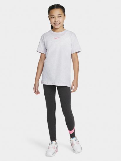 Футболка NIKE Sportswear Essential Logo Boyfriend модель DA6918-051 — фото - INTERTOP