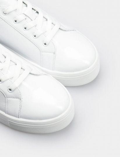 Кроссовки для женщин Кеды 71030280-1 белая кожа лакированя 71030280-1 выбрать, 2017
