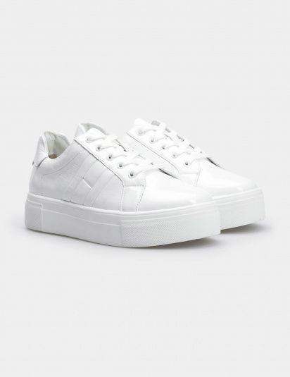 Кроссовки для женщин Кеды 71030280-1 белая кожа лакированя 71030280-1 Заказать, 2017