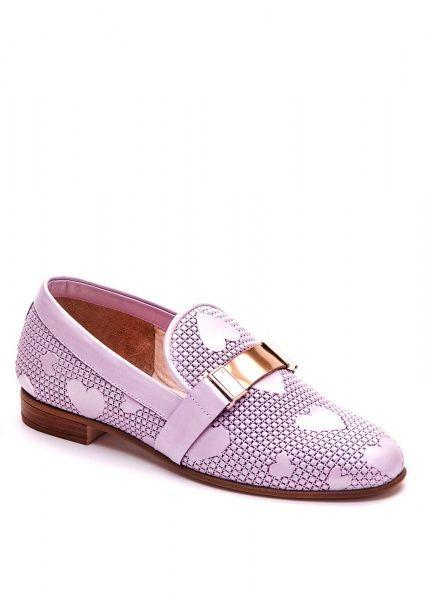 для женщин 715722 Кожаные лоферы Modus Vivendi 715722 брендовая обувь, 2017