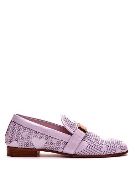для женщин 715722 Кожаные лоферы Modus Vivendi 715722 модная обувь, 2017
