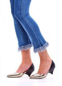Туфлі жіночі 716302 Туфли-деленки кожаные Modus Vivendi 716302 - фото