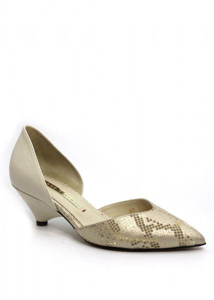 Туфлі  жіночі 716372 Бежевые кожаные туфли Modus Vivendi 716372 вибрати, 2017