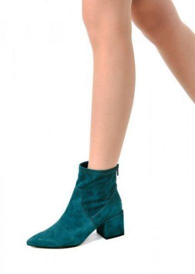 женские 717604 Бирюзовые замшевые ботинки Modus Vivendi 717604 выбрать, 2017