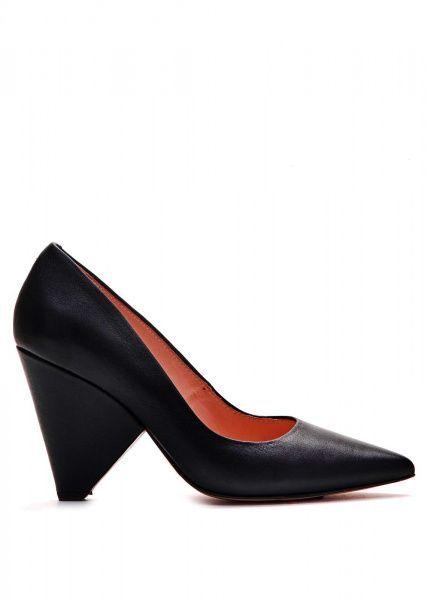 Купить Туфли женские 721254 Черные кожаные туфли 721254, Modus Vivendi