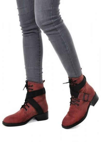 для женщин 730111 Высокие замшевые ботинки Modus Vivendi 730111 обувь бренда, 2017