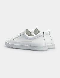Кроссовки женские Кеды 73108180-1 белая кожа 73108180-1 модная обувь, 2017