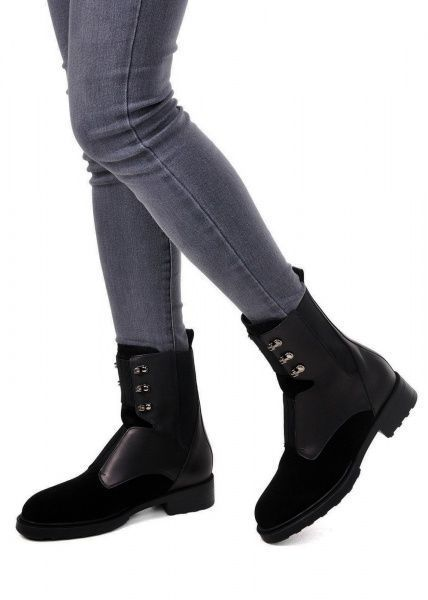 женские 740111 Черные высокие ботинки Modus Vivendi 740111 цена, 2017