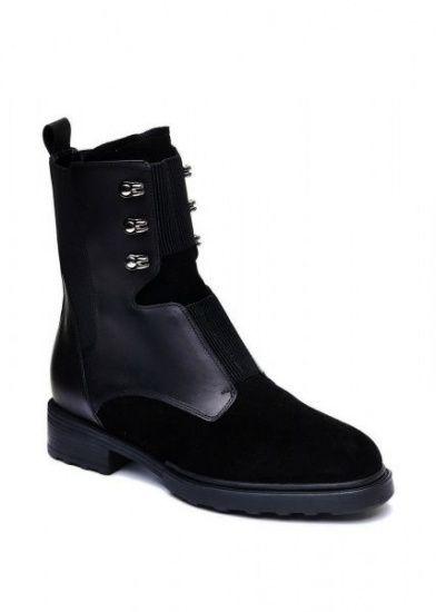 женские 740111 Черные высокие ботинки Modus Vivendi 740111 брендовая обувь, 2017