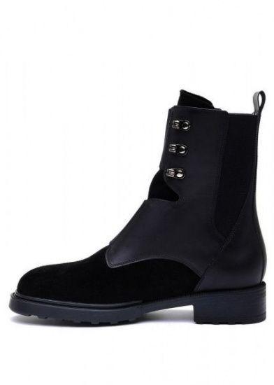 женские 740111 Черные высокие ботинки Modus Vivendi 740111 купить в Интертоп, 2017