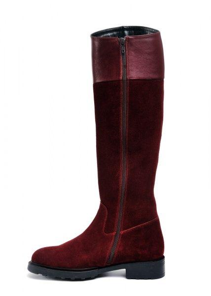для женщин 740211 Замшевые бордовые сапоги Modus Vivendi 740211 цена, 2017