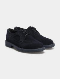 Туфлі  для жінок Туфли 74120211-4 синяя замша 74120211-4 дивитися, 2017
