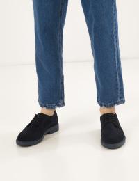 Туфлі  для жінок Туфли 74120211-4 синяя замша 74120211-4 брендове взуття, 2017