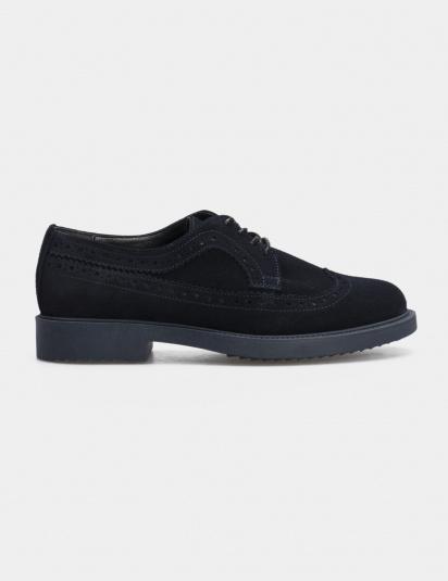 Туфлі  для жінок Туфли 74120211-4 синяя замша 74120211-4 фото, купити, 2017