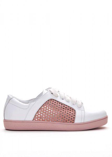 Кеды женские 745013 Белые кожаные кеды Modus Vivendi 745013 размерная сетка обуви, 2017