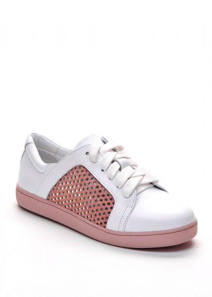 Кеды женские 745013 Белые кожаные кеды Modus Vivendi 745013 брендовая обувь, 2017