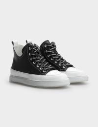 Кросівки  для жінок Кроссовки 747831180-1 черная/белая кожа 747831180-1 дивитися, 2017
