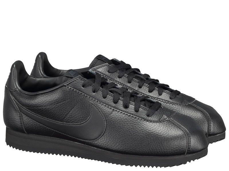 Купить Кроссовки мужские Nike Classic Cortez Leather Black 749571-002, Черный