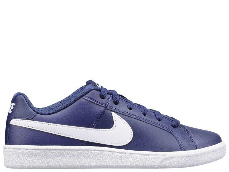 Кроссовки для мужчин NIKE COURT ROYALE Blue 749747-411 примерка, 2017