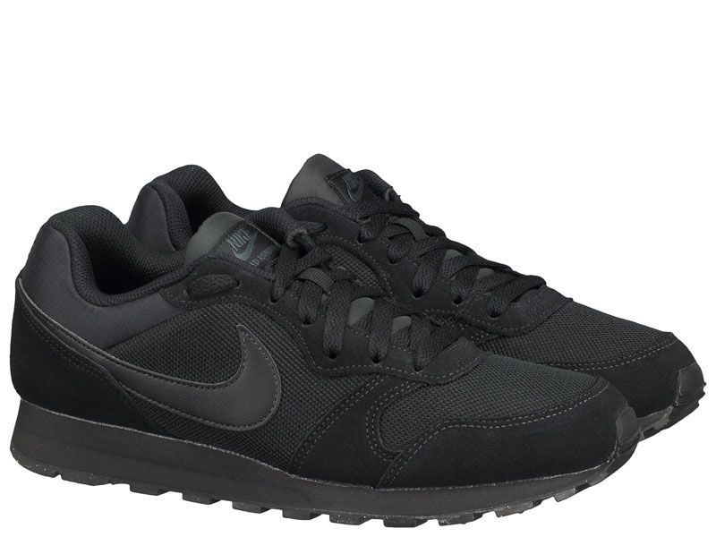 Кроссовки для мужчин NIKE MD RUNNER 2 Black 749794-002 брендовая обувь, 2017