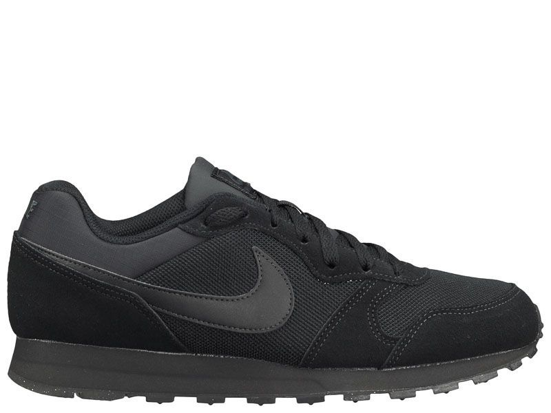 Кроссовки для мужчин NIKE MD RUNNER 2 Black 749794-002 модная обувь, 2017