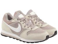 Кроссовки для женщин WMNS NIKE MD RUNNER 2 Grey/Pink 749869-201 бесплатная доставка, 2017