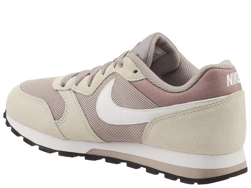 Кроссовки для женщин WMNS NIKE MD RUNNER 2 Grey/Pink 749869-201 примерка, 2017