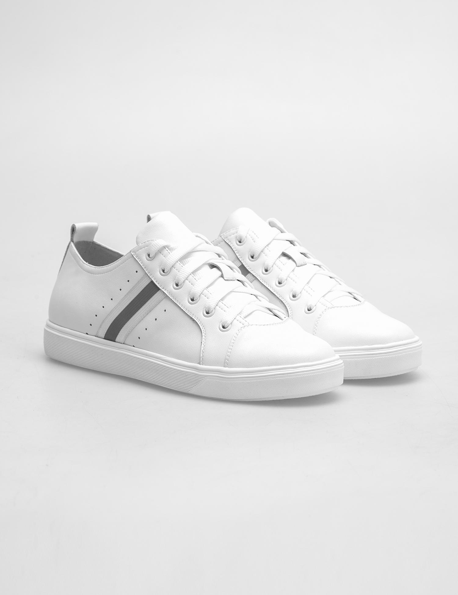Кросівки  жіночі Кеды 75708180-1 белая кожа 75708180-1 модне взуття, 2017