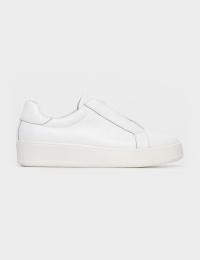 Кеди  жіночі Кроссовки 75908180-1 белая кожа 75908180-1 модне взуття, 2017