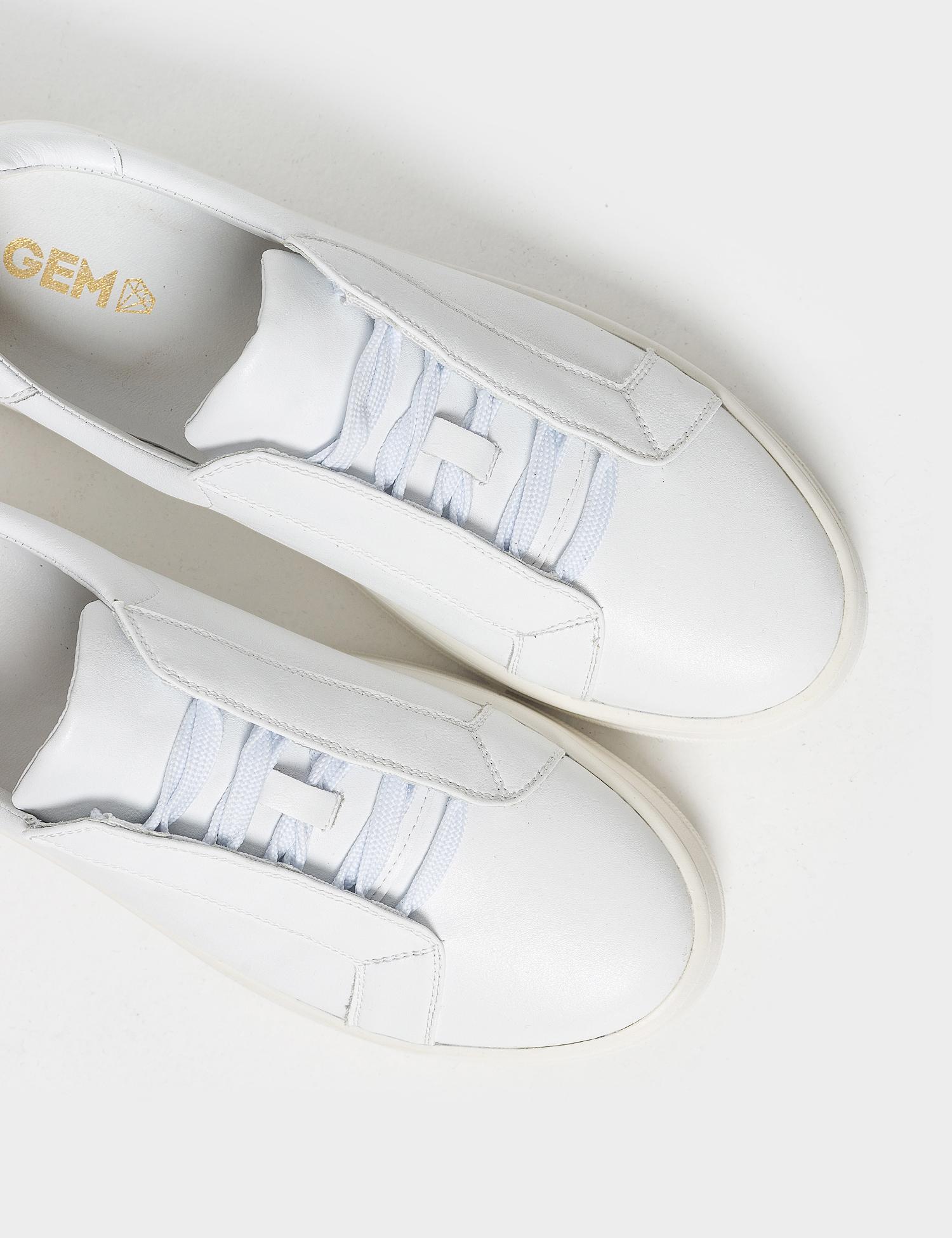 Кеди  жіночі Кроссовки 75908180-1 белая кожа 75908180-1 продаж, 2017