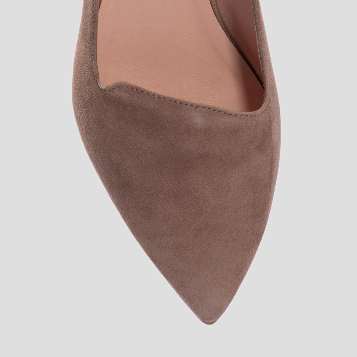 Балетки для женщин Балетки 77221 бежевий 77221bez цена обуви, 2017