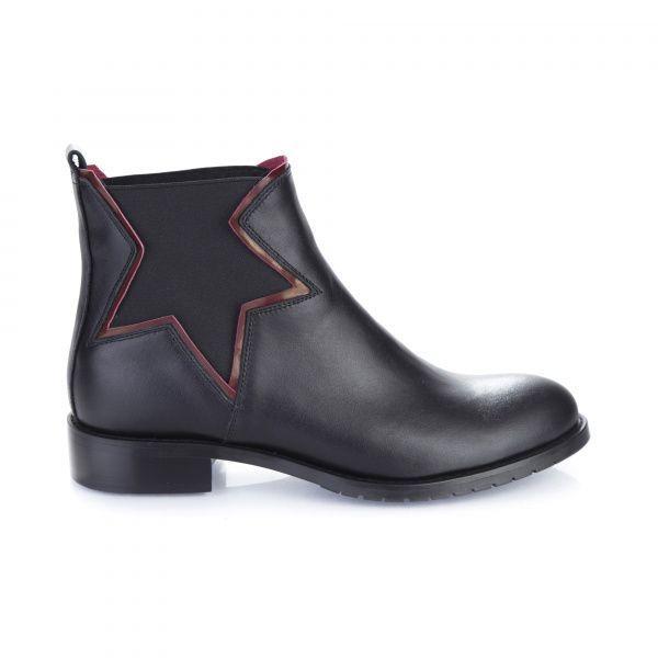Ботинки для женщин Ботинки 7723 черная кожа. Байка 7723 модная обувь, 2017