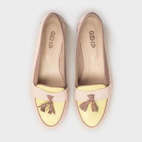 женские Слиперы 7728-010 бежевая(floria) кожа 7728-010 размерная сетка обуви, 2017